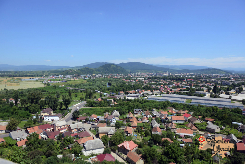 View from Mukachevo Castle-imp