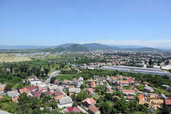 View from Mukachevo Castle-imp