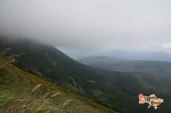 Mist upon Carpathian Mountains