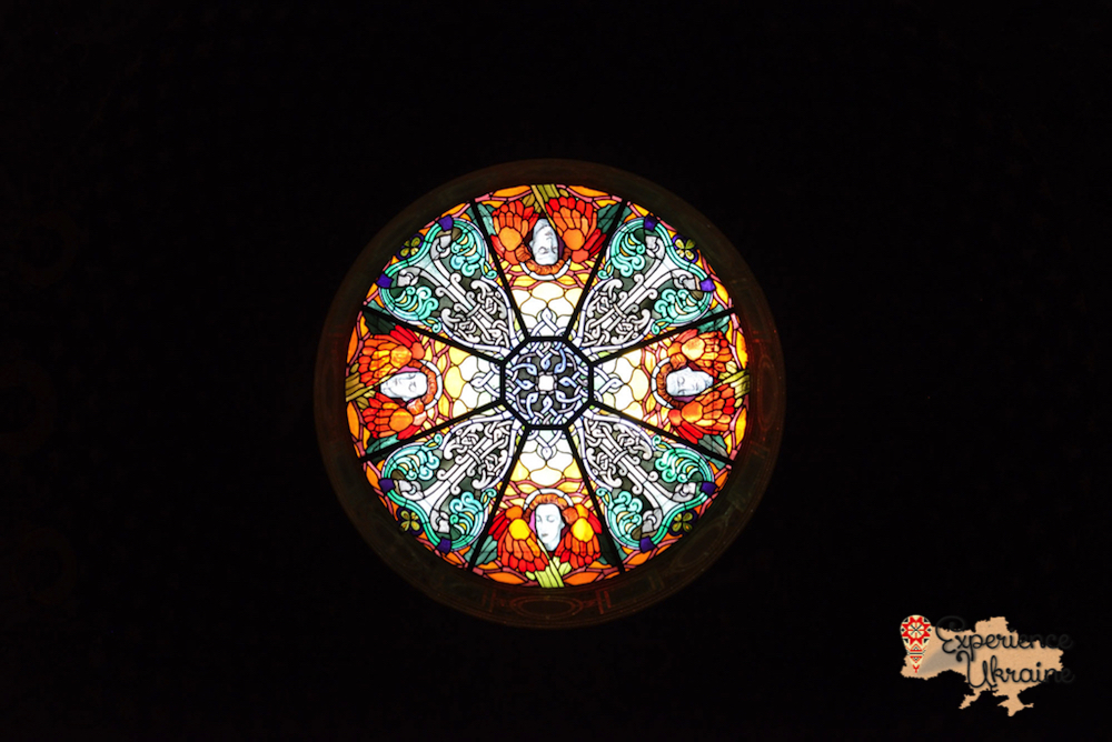 Rose window at Armenian Church in Lviv-imp