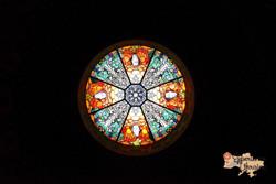 Rose window at Armenian Church in Lviv-imp