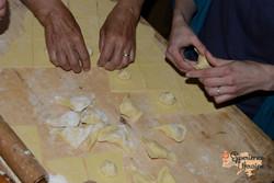 Making pastry for Banosh-imp