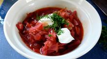 Traditional Ukrainian Borshch recipe