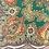 Thumbnail: Vintage cotton head scarf fro Ukraine