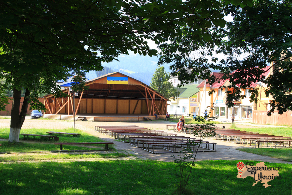 Stage in Verhovyna