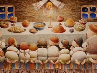 Ukrainian Christmas Eve Food