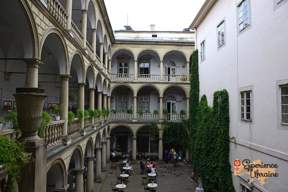 Korniatkts Palace market Square Lviv-imp
