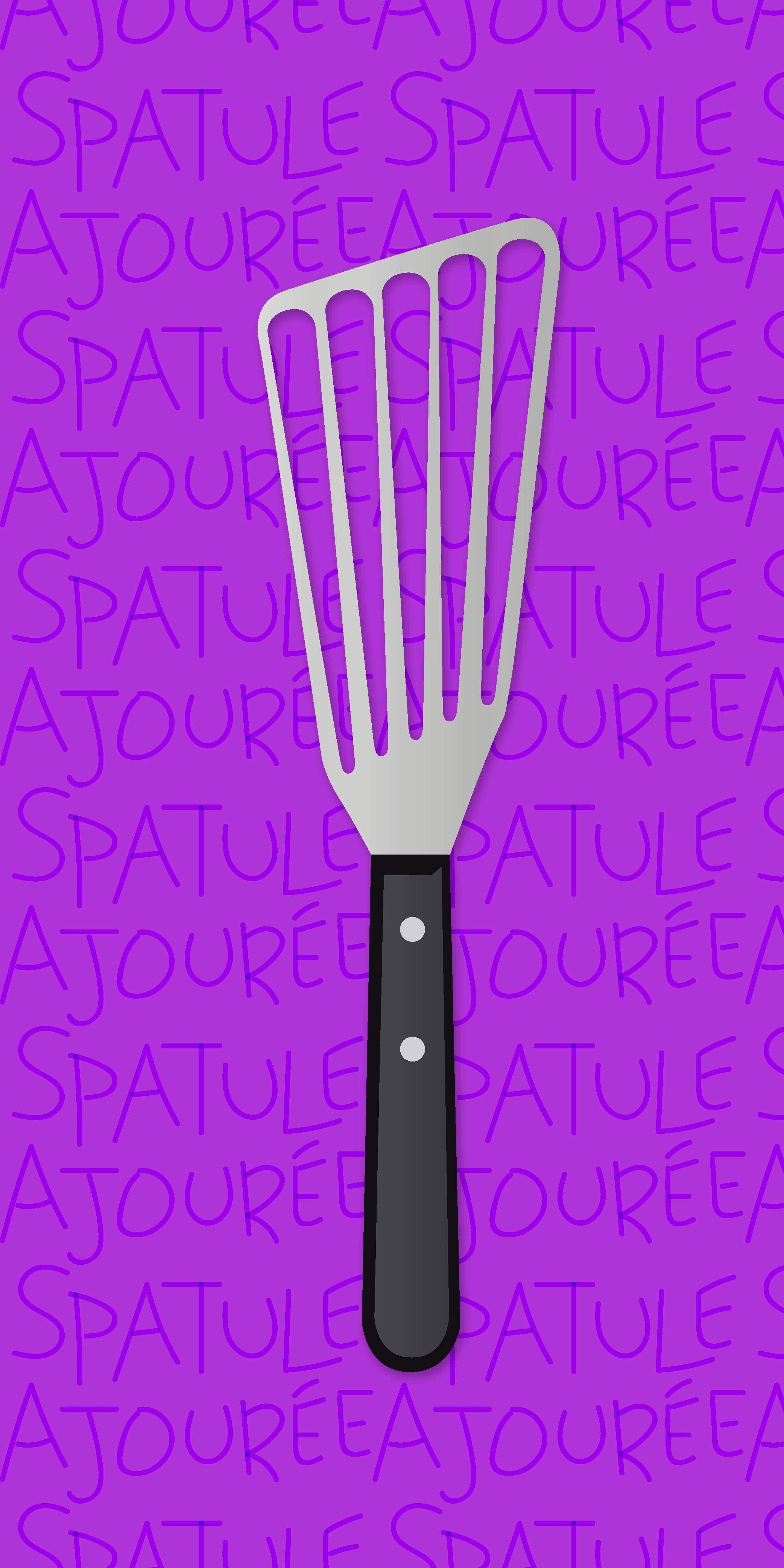 Fish Spatula - Spatule Ajourée