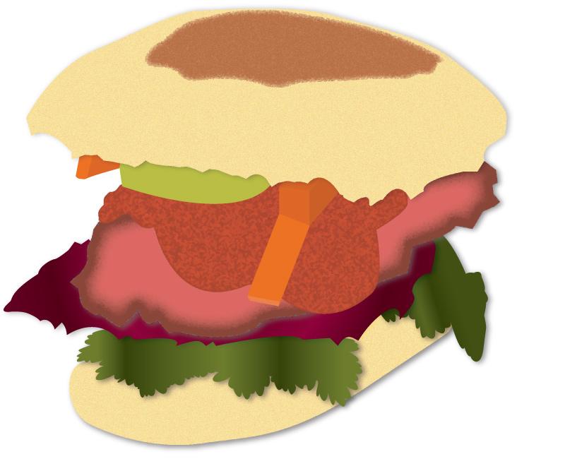 Pork Sandwich - Textures
