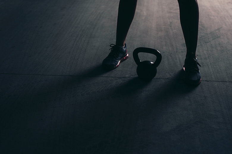 Lifting Kettle Bell