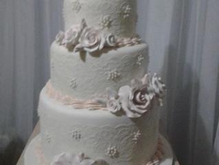 Sarah and Jake's Wedding Cake
