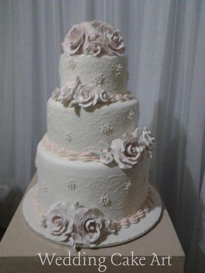 Sarah and Jake Wedding Cake