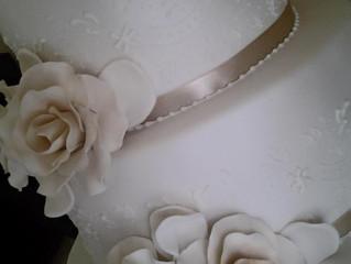 Aninelo and Deb's Wedding Cake