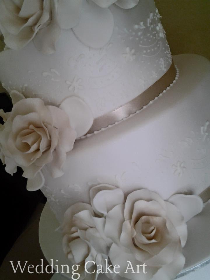 Aninelo and Deb's Wedding Cake 1