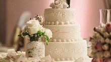 Chelly and Guiseppe's Wedding Cake
