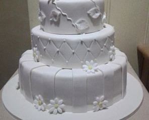 Robert and Anita's Wedding Cake