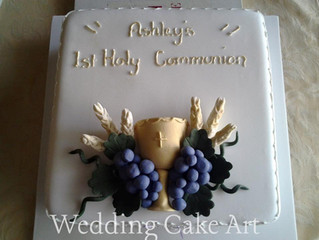 Ashley's Communion Cake