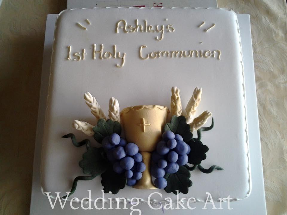Ashley's Communion Cake