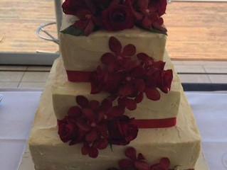 Melinda and Mark's Wedding Cake