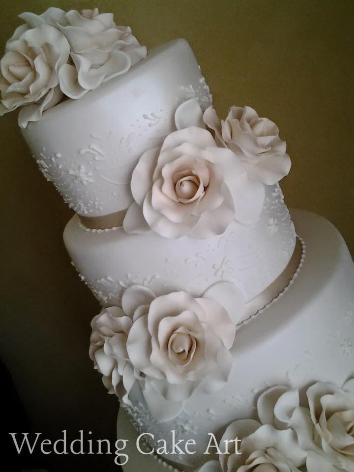 Aninelo and Deb's Wedding Cake 2