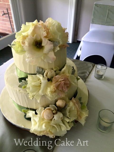 Amanda and Kyle's Wedding Cake 1