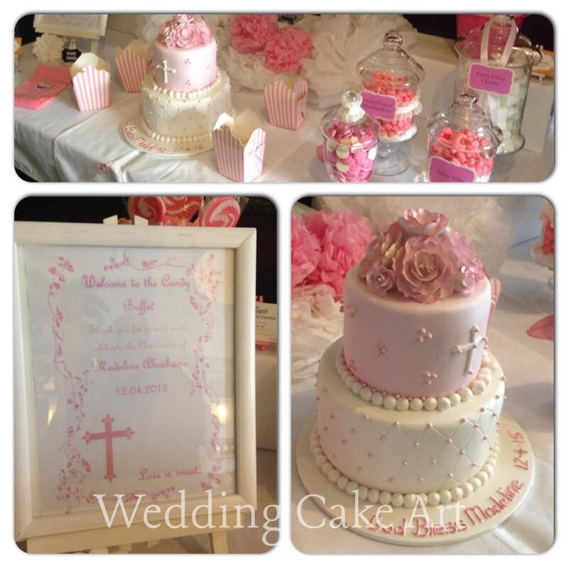 Anne-Marie's Daughter's Baptism Cake