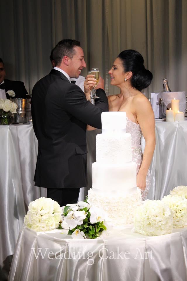 Kylie and Jean-Paul's Wedding Cake 3