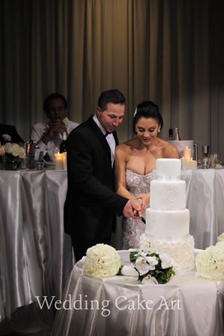 Kylie and Jean-Paul's Wedding Cake 1