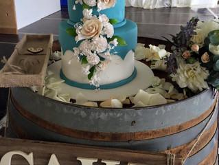 Ashley and Joel's Wedding Cake