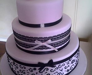 Heather and Grant's Wedding Cake