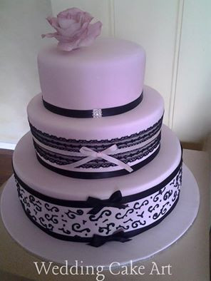 Heather and Grant's Wedding Cake