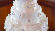Connie and Peter's Wedding Cake
