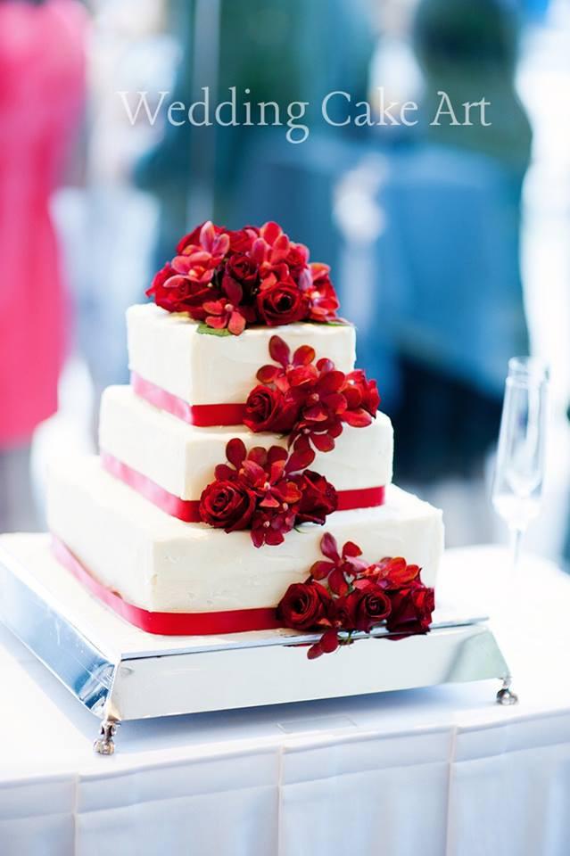 Melinda and Michael's Wedding Cake