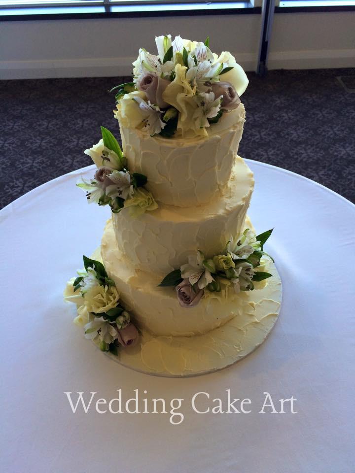Alexandra and Sam's Wedding Cake