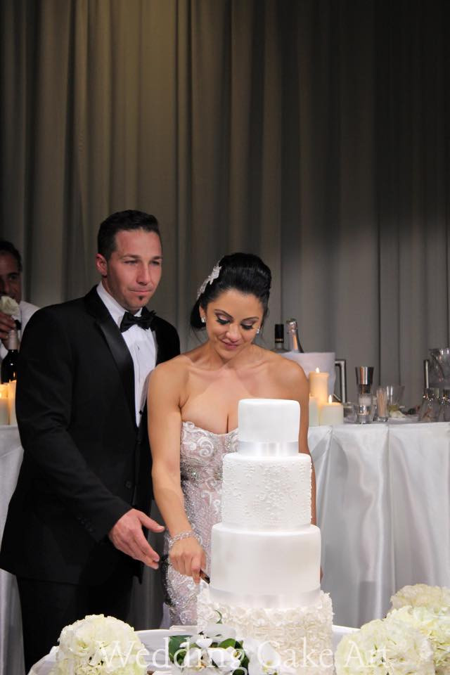 Kylie and Jean-Paul's Wedding Cake 2