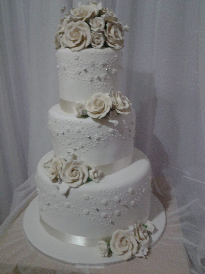 Emily and Daniel's Wedding Cake