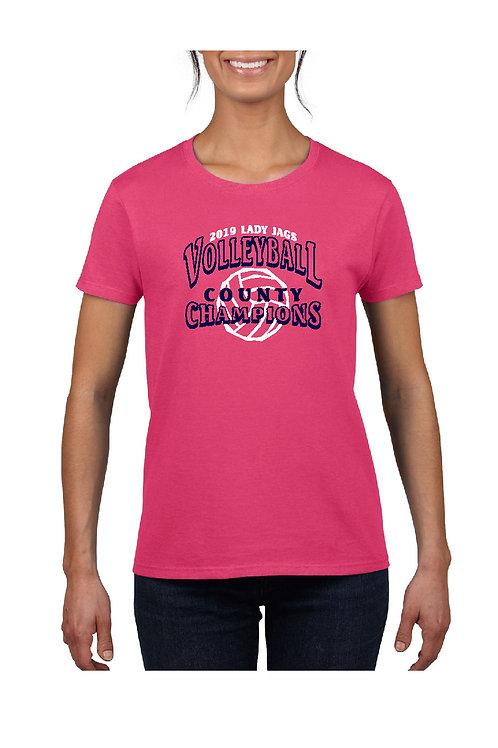 RTMS Vball Champions Short Sleeve Women's Shirt - 2000L