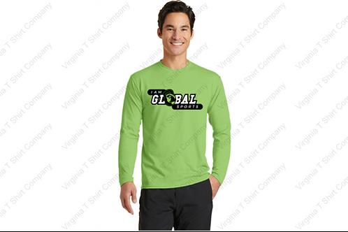 Polyester Long Sleeve T-Shirt