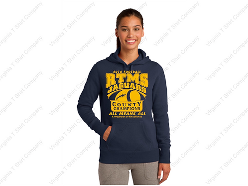 RTMS COUNTY CHAMPS WOMEN'S HOODIE