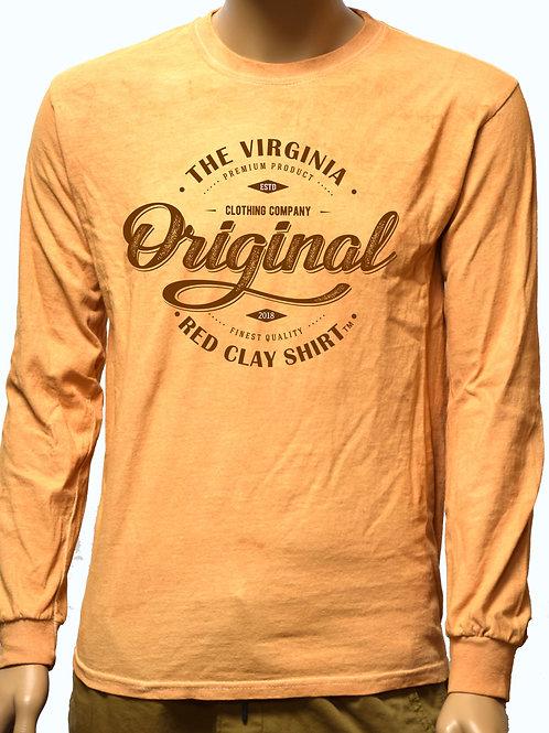 Original Virginia Red Clay Long Sleeve Shirt