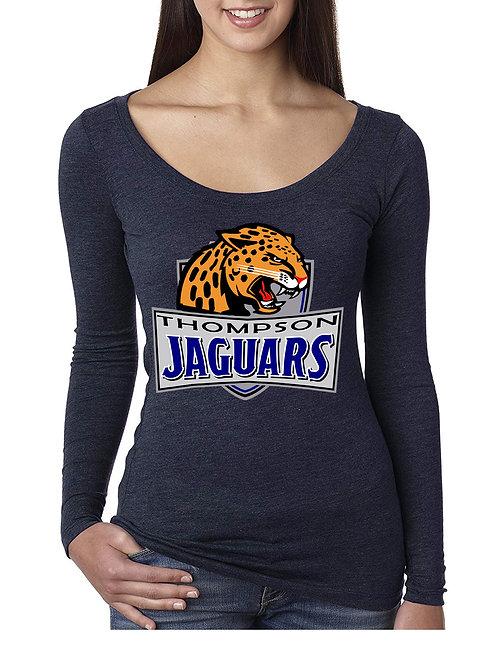 Tri-Blend Long Sleeve Women's Shirt - NL6731-A
