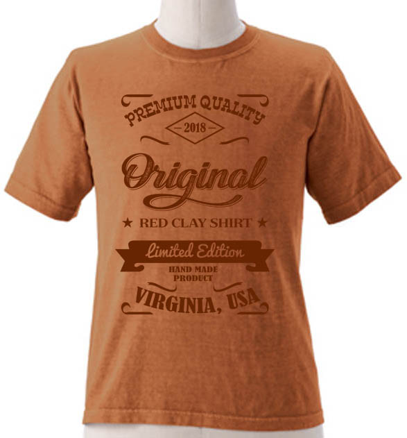 Red Clay Shirt 2