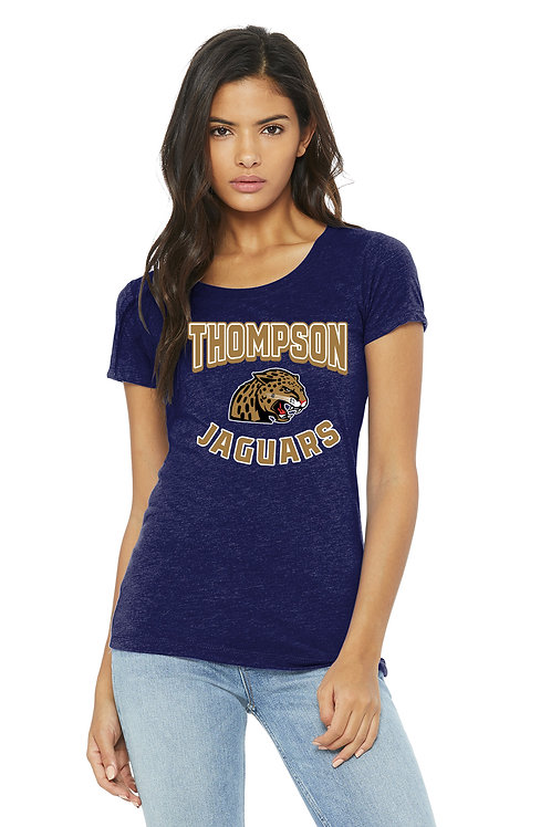 Tri-Blend Short Sleeve Women's Shirt - BC8413-B