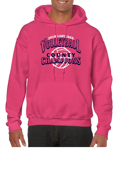 RTMS Vball Champs Heavy Blend 8.0 Ounce Adult Hooded Sweatshirt