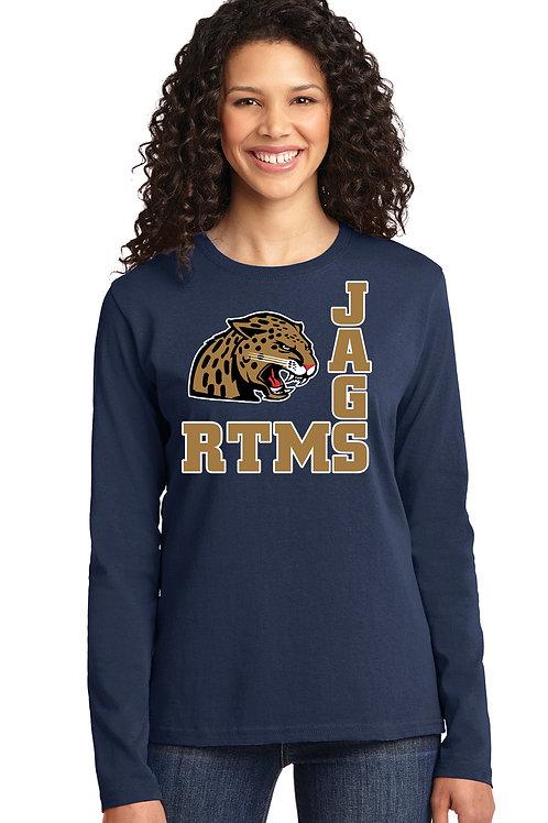 Cotton Long Sleeve Women's Shirt - LPC54LS *5400L-D