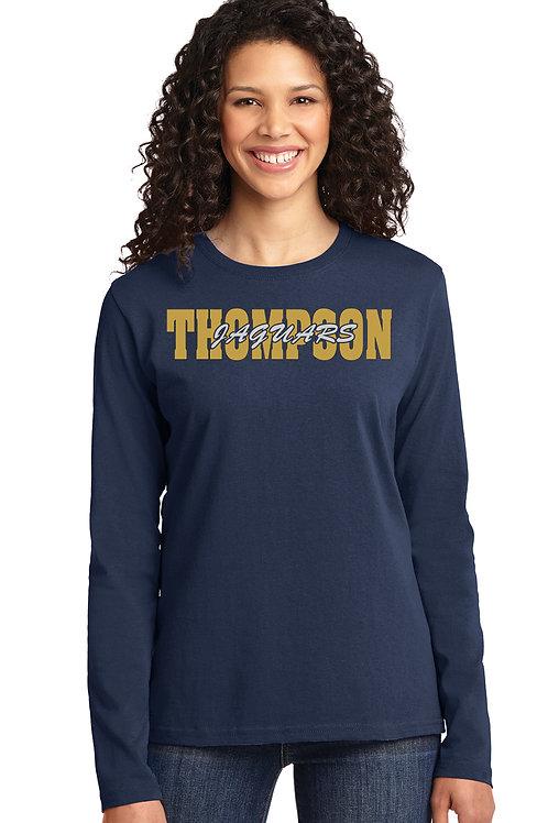 Cotton Long Sleeve Women's Shirt - LPC54LS *5400L-C