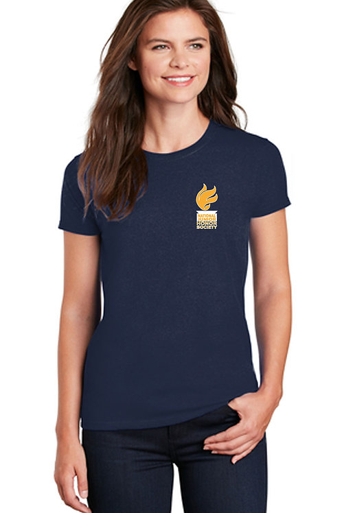 NJHS Ladies Short Sleeve Blend T-Shirt