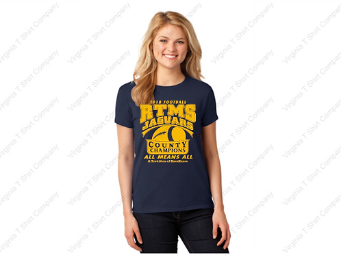 RTMS COUNTY CHAMPS WOMENS SHORT SLEEVE SHIRT