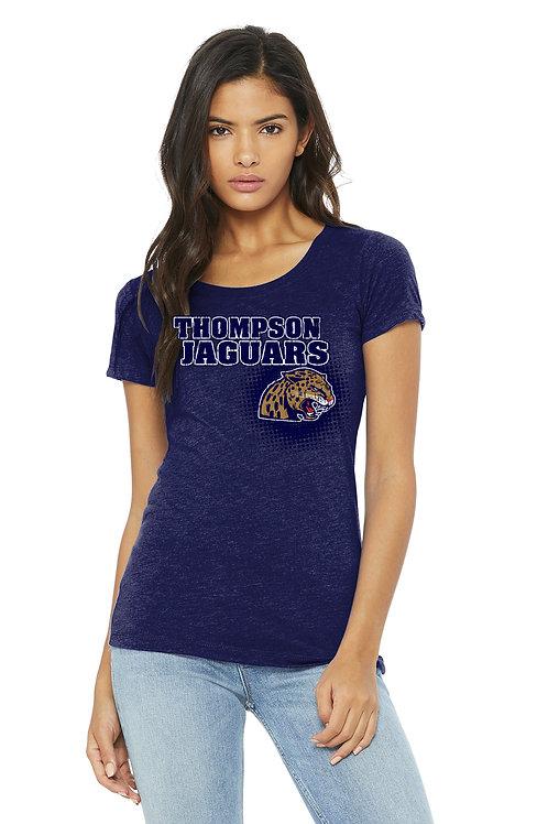 Tri-Blend Short Sleeve Women's Shirt - BC8413-F