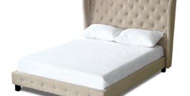 Bardot Bed Beige